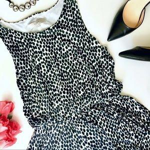 Ann Taylor Loft | Super Soft Comfy Dotted Dress